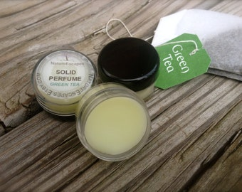 Solid Perfume, Travel Size Green Tea Perfume