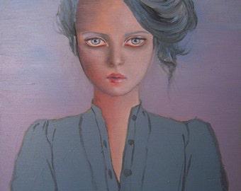 Painting_Borderline II, 2013, Oil on wood