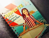 Vintage Walt Disney's ANNETTE Smugglers Cove Book JOURNAL recycled book