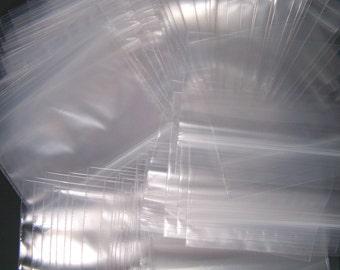500 - 3 x 2 Ziplock bags - Recloseable Poly Bag
