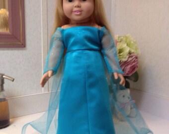 Elsa gown from Frozen