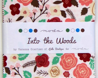 Into the Woods Charm Pack - Lella Boutique for Moda - (42) 5'' Squares