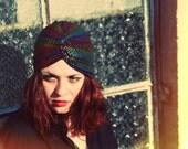 Sparkling Stars Turban Hat