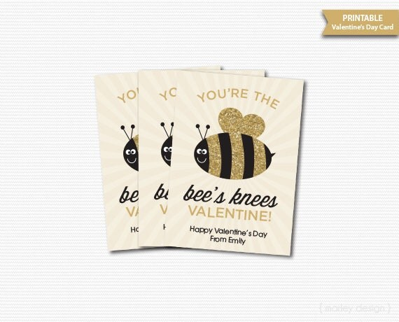 VALENTINES SPECIAL BUNDLE - YOU'RE THE BEES KNEES  |The Bees Knees Valentine