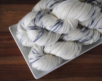 Hedwig on Chestnut, Merino/Cashmere/Nylon Aran Weight Hand-dyed Yarn