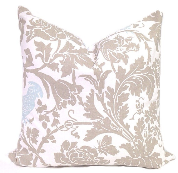 Light Blue Throw Pillow Covers : Light Blue Pillow cover Accent DECORATIVE PILLOW by ThePillowFight