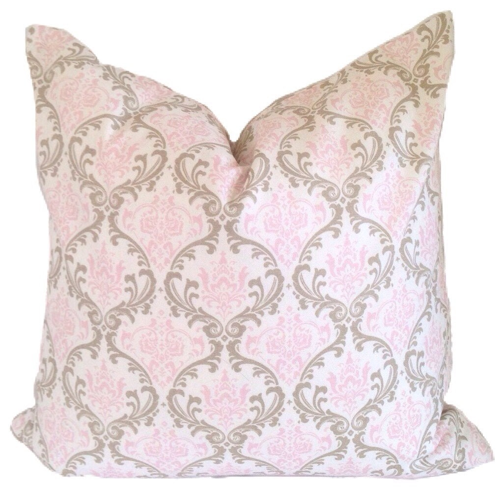Pink PILLOW COVER Decorative Pillows Accent by ThePillowFight