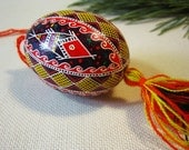 Ukrainian easter egg - Traditional pysanka