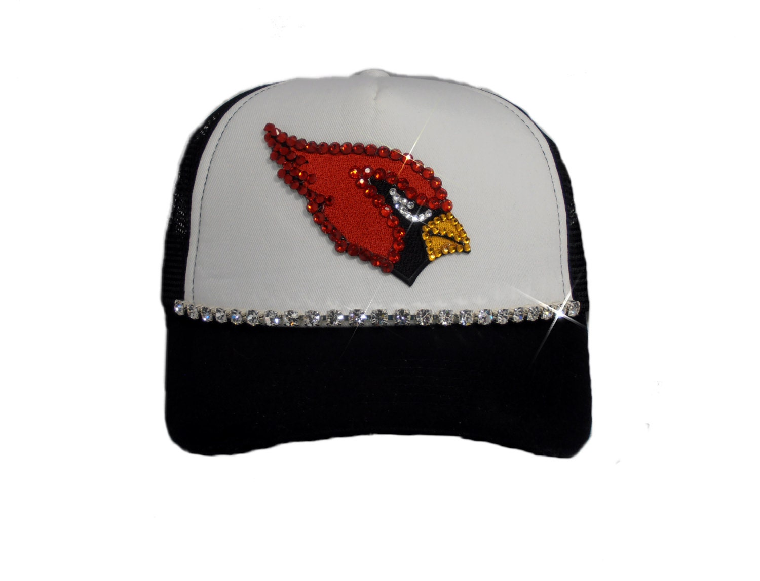 arizona cardinals bling hat bling hats s by