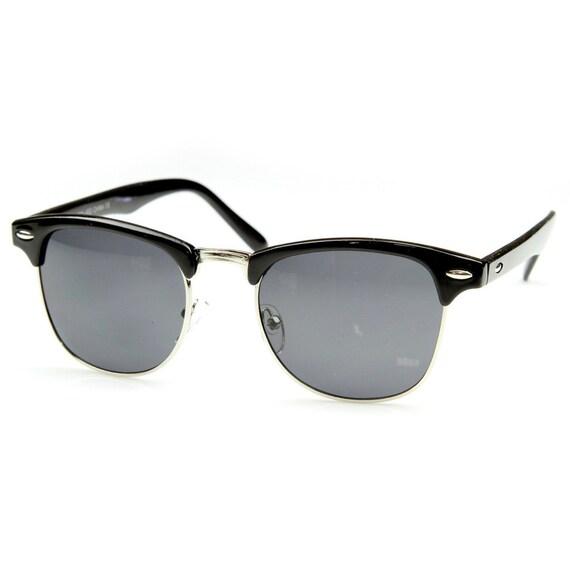 Vintage Sunglasses Retro Deadstock Half Frame by frameandoptic