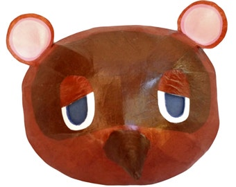 Animal Crossing Tom Nook Cosplay Mask