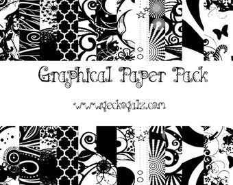 Graphicals Digital Paper Pack