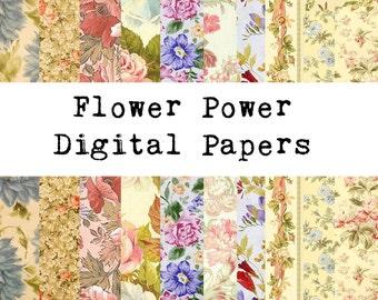 Flower Power Paper Pack