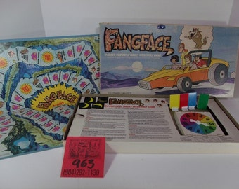 Parker Brothers Fangface Boardgame