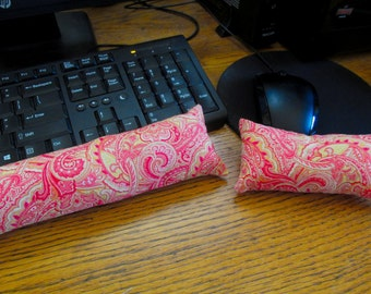 Coral Mouse Wrist Rest, Keyboard Wrist Rest
