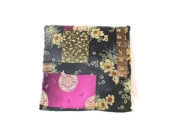 Oriental Print Pillow