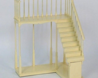 Vintage Architectural Staircase Model