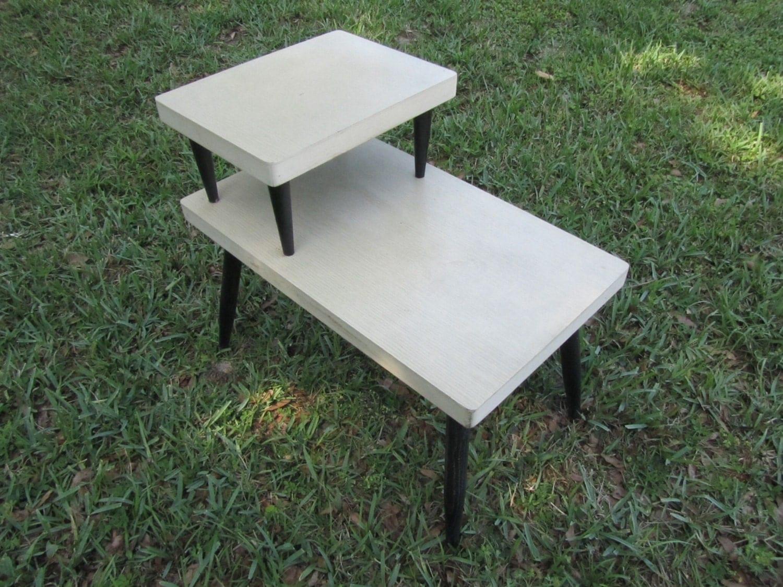 danish modern end table retro end table formica end table. Black Bedroom Furniture Sets. Home Design Ideas