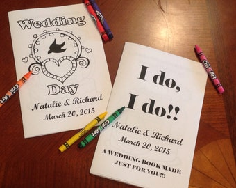 Wedding Coloring Book for Kids 8 pages