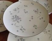 "Noritake ""Suzette"" - Set of Four Dinner Plates"