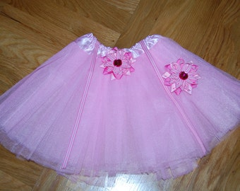 Pink Tutu and Bow Set