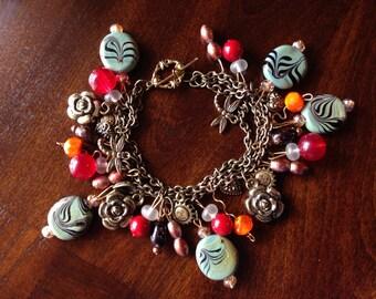 Vintage three layered bracelet