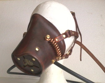 Steampunk breather mask