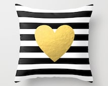 Popular items for gold throw pillow on Etsy