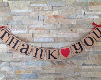 Thank you Banner Wedding Banner
