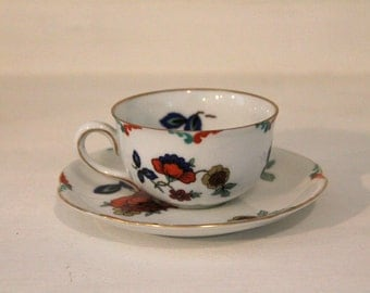 Vintage Wurttemberg Teacup and Saucer from Germany