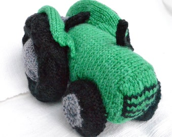 Vintage Tractor Knitting Pattern