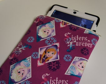DISNEY FROZEN iPad CASE Tablet Cover Padded Sleeve Zipper Pouch for iPads and Tablets