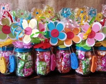 Christmas Baby Food Jar Party Favors