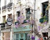 Au Vieux Paris Bertie's cupcakery photo, Paris restaurant, fine art paris photography, travel photo, wall decor