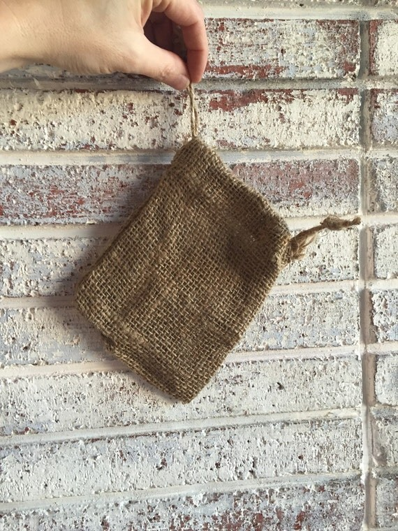 RUSTIC BURLAP SACK {Perfect for Smaller Gifts..Reusable Gift Wrapping}