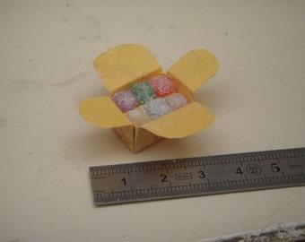 Box of 1/12th miniature fruit paste