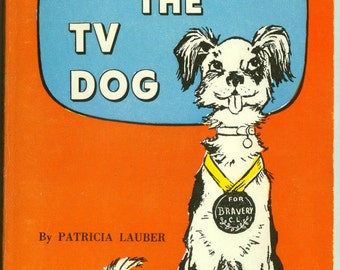 Clarence The TV Dog by Patricia Lauber Vintage Scholastic Book for Kids Paperback