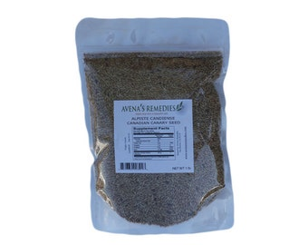 Canary Seed- Alpiste for Human Consumption 1 lb Freshly packaged