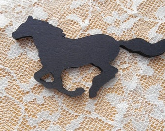 Horse Paper Die Cut, choose your color,birthday,barbecue,wall hanging,place marker