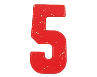 Number 5 etsy for Number 5 decorations