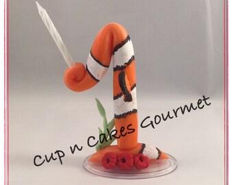 Nemo Cake Topper / Candle