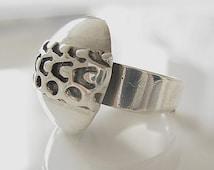 Pentti Sarpaneva Sterling Silver Ring, Modernist