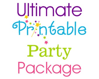 Ultimate Printable Party Package