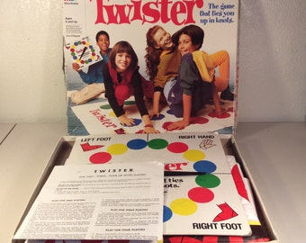 Vintage Twister Game Complete/ 1966 Twister/ Retro Game Night