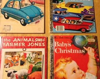 Re issued Little Golden books