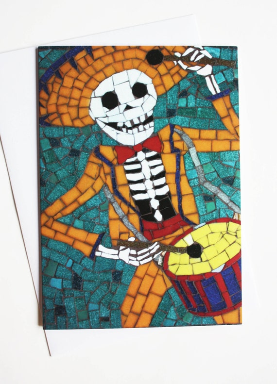 Day of The Dead Dad Day of The Dead Card