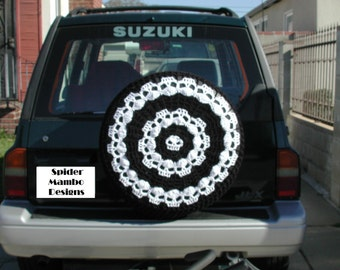 PDF Wikked wheels Skull Spare Tire Cover