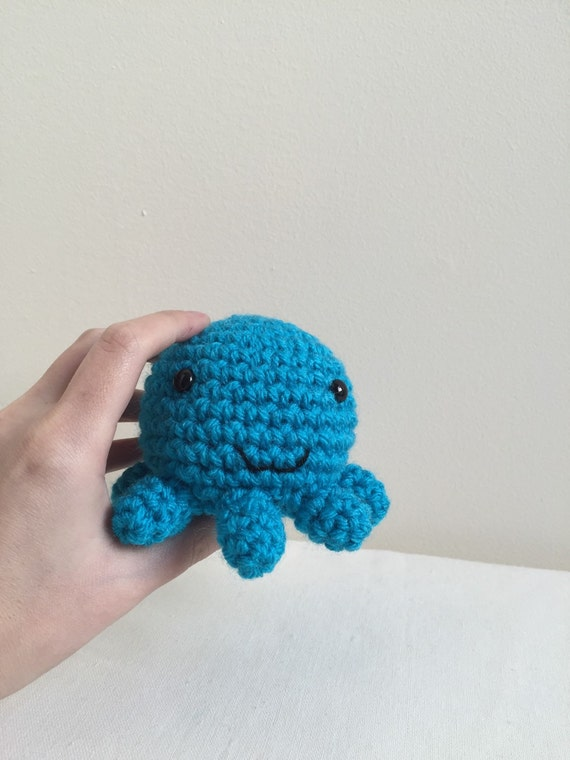 Mini Amigurumi Octopus : Mini amigurumi octopus, crochet octopus, octopus toy ...