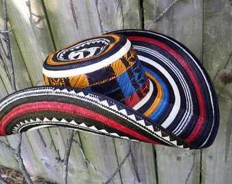 traditional Colombian Hat  -Sombrero vueltiao