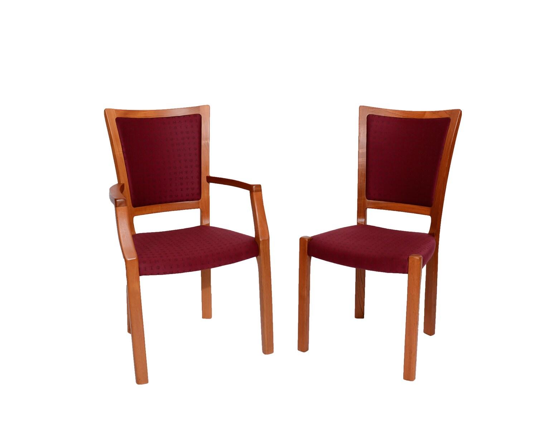 J L Moller 6 Teak Dining Chairs Denmark Danish Modern